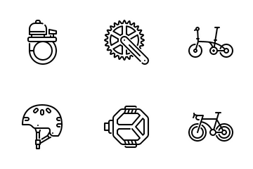 Bicycle Icon Pack