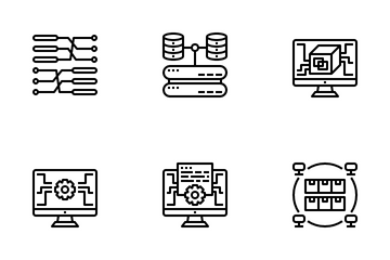 Big Data Icon Pack