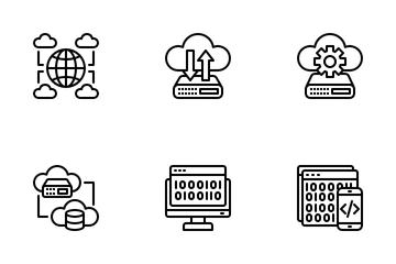 Big Data Icon Pack
