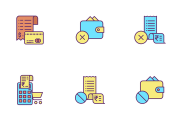 Bill And Payments Icon Pack