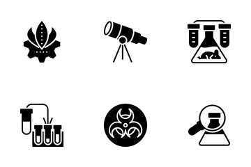 Bioinformatics And Bioengineering Icon Pack