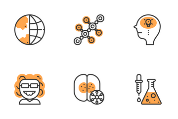 Biology Technology Icon Pack