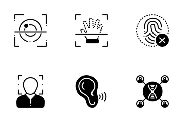Biometrics Icon Pack