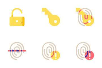 Biometrics And Security Icon Pack