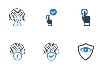 Biometrics Authentication Icons Icon Pack