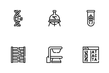 Biotech Technology Icon Pack