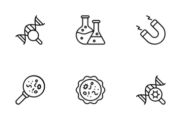 Biotechnology Icon Pack