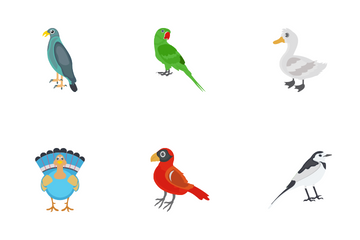 Birds Icon Pack