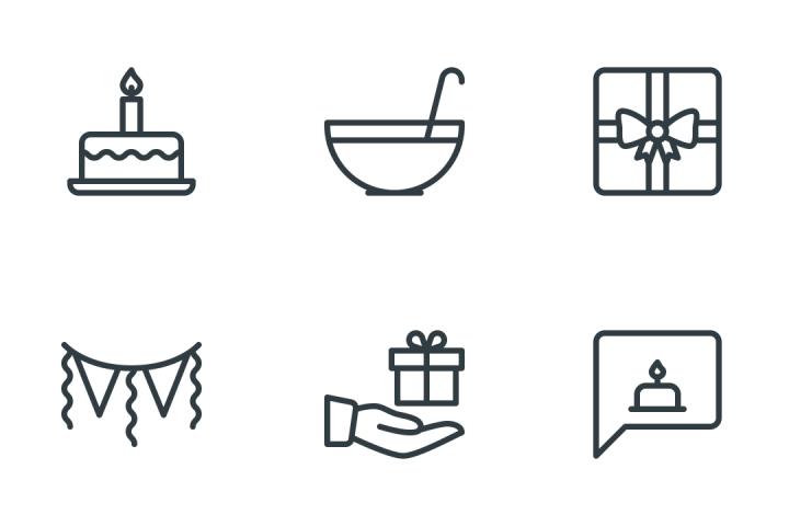 Birthday Icon Pack