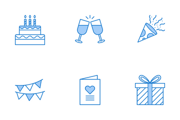 Birthday And Celebration Icon Pack