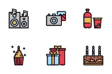 Birthday And Party Icon Pack
