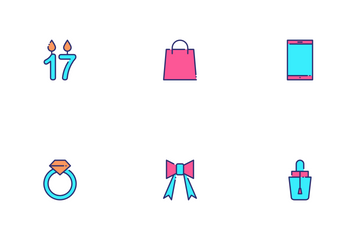 Birthday Celebration Icon Pack