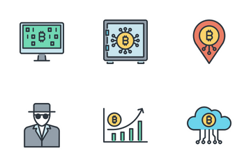 Bitcoin Icons Icon Pack