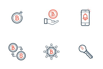 Bitcoin Technology Icon Pack