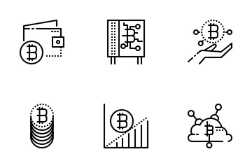 Bitcoins Icon Pack