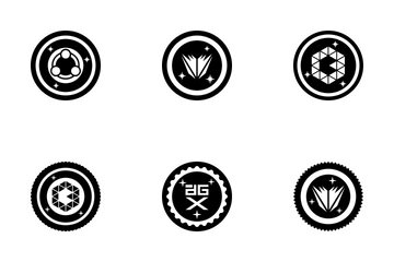 Bitcoins And Cryptocoins Icon Pack
