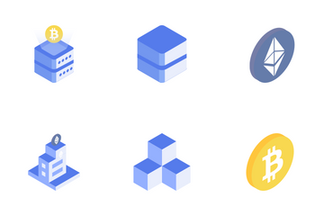 Blockchain Icon Pack