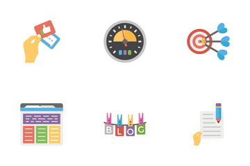 Business support Icon Pack