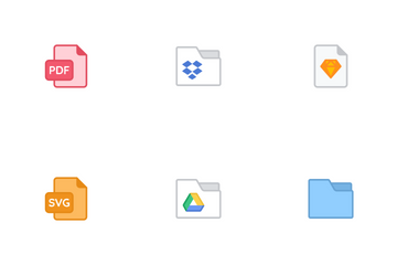 Bloomies: Files & Documents Icon Pack