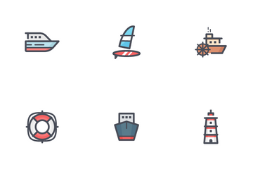 Boat And Ship Icon Pack