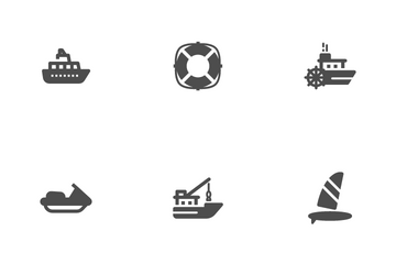 Boat & Ship Icon Pack