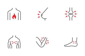 Body-ache Icon Pack