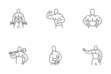 Bodybuilding Icon Pack