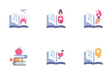 Book Genres Icon Pack