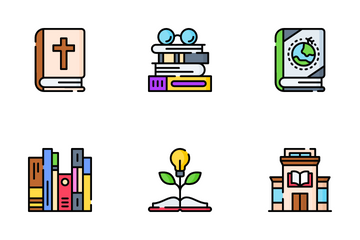Book Lovers Icon Pack