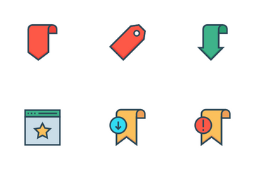 Bookmark & Tags Icon Pack