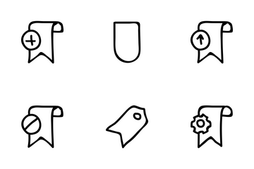 Bookmarks Tags Icon Pack