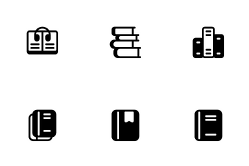 Books & Reading Icon Pack