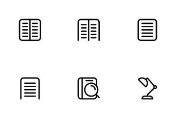 Books & Readings Icon Pack