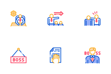 Boss Leader Company Icon Pack