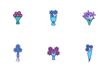 Bouquet Icon Pack