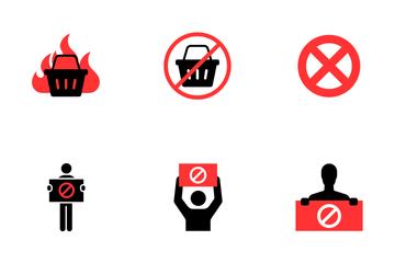 Boycott Icon Pack