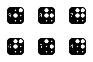 Braille Alphabet Icon Pack