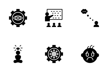 Brainstorming Icon Pack