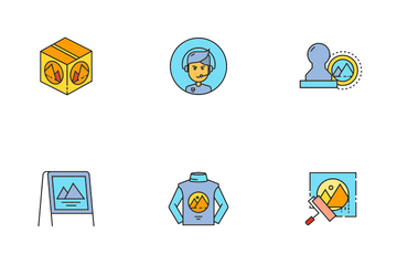 Branding And Advertising Icon Pack