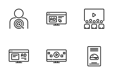 Branding And Marketing Icon Pack