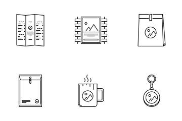 Branding Outline Icon Pack