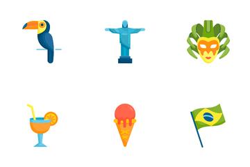 Brazil Carnival Icon Pack