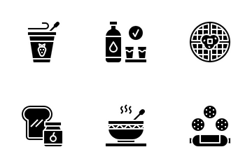 Breakfast Icon Pack