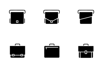 Briefcase Icon Pack