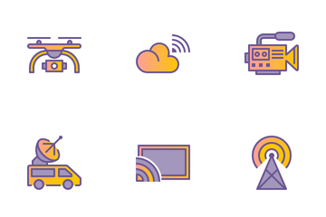 Broadcast Icon Pack