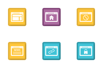 Browser And Business Vol 1 Icon Pack