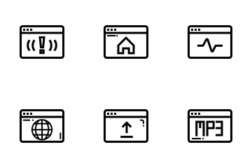 Browser And Interface Icon Pack