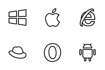 Browser And Operating System  Icon Pack