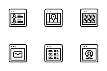 Browser Vol 1 Icon Pack