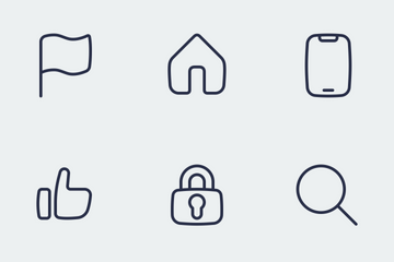 BUBBLE ICON General Set Icon Pack